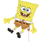 Mini Shape SpongeBob Foil Balloon A30 Bulk