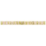 Letter Banner Wedding Decorations jumbo glitter 304,8 x 28,5 cm