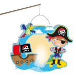 Lantern Building Kit Pirate Paper 30 x 24 cm