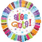 Standard Radiant Birthday Alles Gute Foil Balloon S55 Packaged 43 cm