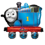"AWK Balloon Buddies ""Thomas the Tank"" Foil Balloon, P60, packaged, 63 x 58 cm"