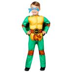 Child Costume TMNT Boys Deluxe 4-6 Years