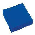 20 Napkins Bright Royal Blue 25 x 25 cm