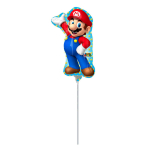 Mini Shape Super Mario Foil Balloon A30 Air Filled