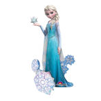 AirWalker Frozen Elsa the SnowQueen Foil Balloon P93 Packag ed 88 x 144 cm