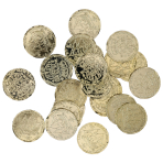 72 Pirate Treasure Coins Pirates Treasure