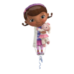SuperShape Doc McStuffins FoilBalloon P38 Packaged 55 x 88  cm
