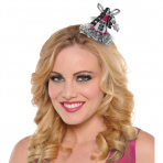Party Cone Hat with Hair Clip New Year Jewels Paper / Foil / Fabric 7.6 x 8.2 cm