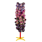 Balloon Tree Display holds 64 air-filled Mini Balloons 65 x 65 x 180 cm