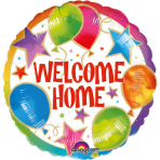Standard Welcome Home Celebration Foil Balloon S40 Packaged