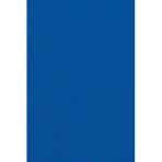 Tablecover Bright Royal Blue Plastic 137 x 274 cm