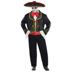 Adult Costume Day of the Dead Senor Size XXL