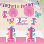 Decoration Kit Sweet Birthday Girl 10 Pieces