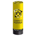 2 Confetti Popper BVB Dortmund 4,4 x 15,2 cm