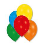 "10 Latex Balloons Metallic assorted 27.5 cm / 11"""