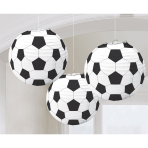 3 Lanterns Championship Soccer Paper 24.1 cm