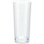 10 Mini Cordial Glasses Plastic Clear 59 ml