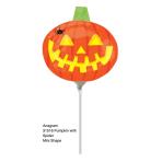 Mini Shape Pumpkin with SpiderFoil Balloon A30 Bulk