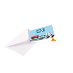 8 Invitations & Envelopes On the Road Paper