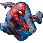 "SuperShape ""Spider-Man"" Foil Balloon  , P38, packed, 43 x 73cm"