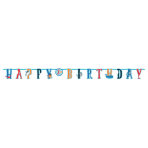 2 Letter Banners Ahoy Birthday Paper 304 x 23.4 cm / 182 x 12.7 cm
