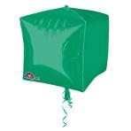 Cubez Green Foil Balloon G20 Bulk 38 x 38 cm