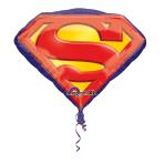 SuperShape Superman Emblem Foil Balloon P38 Packaged 66 x 50cm