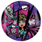 8 Plates Monster High 2 23 cm