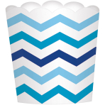 24 Snack Cups Paper Minis blue7,3 x 7,3 x 2,8cm