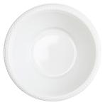 20 Bowls Plastic Frosty White 355ml