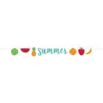 Letter Banner Hello Summer Glitter Paper 365 x 17.9 cm
