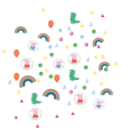 Confetti Peppa Pig Foil / Paper 14 g