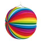 Lantern Rainbow Paper 25 cm