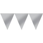 Pennant Banner Silver 450 cm
