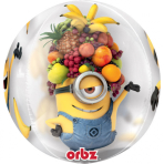 """Orbz """"Despicable Me"""" Foil Balloon Clear, G40, packed, 38 x 40cm"""