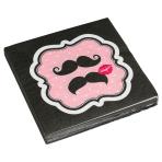20 Napkins Moustache 33 x 33 cm