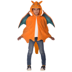 Child Costume Charizard Cape 8 - 12 Years