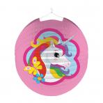 Lantern Unicorn Paper 25 cm