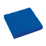 20 Napkins Bright Royal Blue 33 x 33 cm