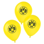 6 Latex Balloons BVB Dortmund 4 Colours 27,5 cm / 11""