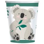 8 Cups Koala Paper 250 ml