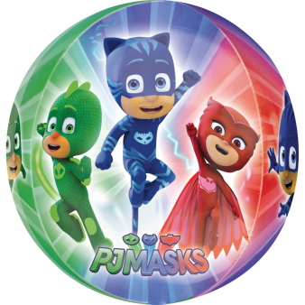"Orbz ""PJ Masks"" Foil Balloon  Clear, G40, packed, 38 x 40cm"