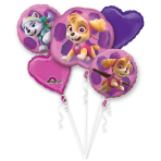 "Bouquet ""Paw Patrol Skye & Everest"" Foil Balloon, P75, packed"