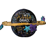 Ultrashape Out of This World Grad Foil Balloon P60 packaged