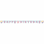 Letter Banner Be a Mermaid Paper 180 x 15 cm