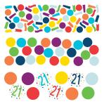 Confetti 21 Confetti Birthday Paper 34 g