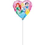 9'' Princess Garden Foil Balloon A20 Air Filled 23 cm