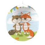 Lantern Fox & Beaver Paper 25 cm