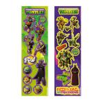 8 Sticker Strips Teenage Mutant Ninja Turtles