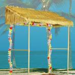 Tiki Bar with Roof Plastic /  Paper 134 x 132 x 58 cm
